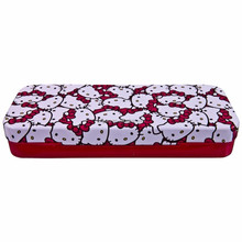wholesale hello kitty tin pencil case