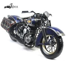 HOT SALE simple design handmade iron motorcycle models with hand painted fast delivery
