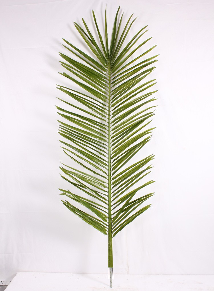 Big Artificial Fake Palm Tree Leaves For Outdoor And