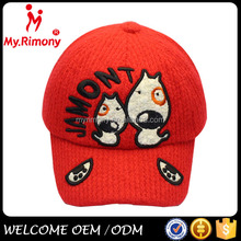cheap embroidery logo baseball cap manufacturer for child