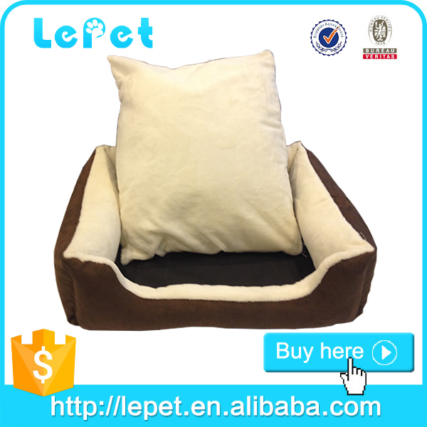 handmade pet bed/dog cushion bed/house shape dog bed