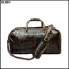 New designer customized genuine leather weekend bag/mens weekend bag/weekend bag leather