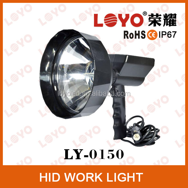 2014 NEWEST HID 35w/55w xenon work light, High power hid work light for heavy trucks, 35w/55w hid work light