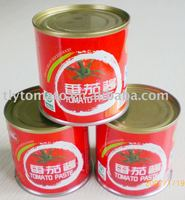 double concentrated canned tomato paste seasonings