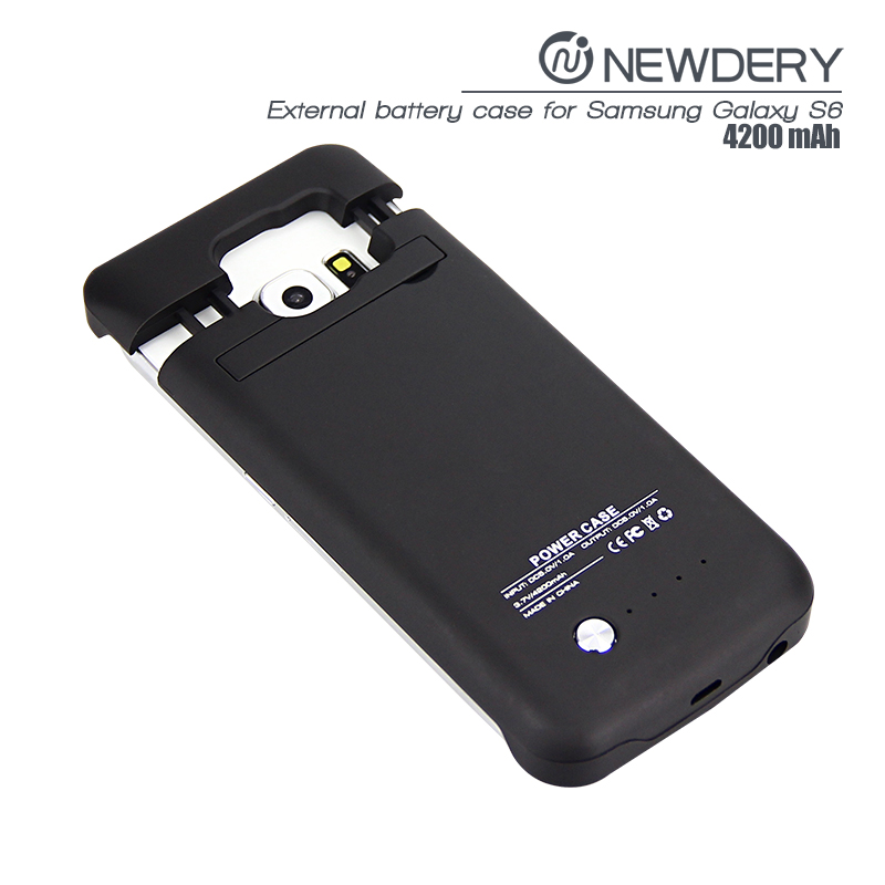 trending hot products 2016 product ideas power case for galaxy s6 extended battery case for s6 from newdery factory wholesaler
