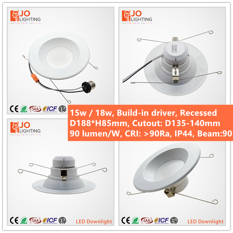 CETL APPROVED all pro led recessed multiple downlights JOLIGHTLED