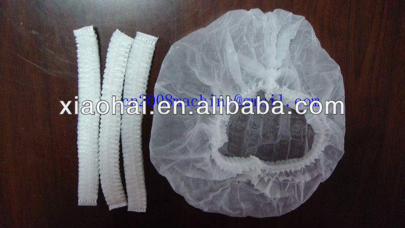 Nonwoven PE Shower Cap Making Machine For Bath Hotel
