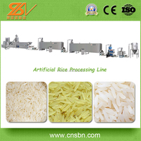 Full Automatic 150kg/h,250kg/h,600kg/h Extruded Rice Making Machine/Artificial rice manufacture plant