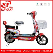Wholesale Lady electric motor bike two seat loading electric bicycle 48V250w with CE