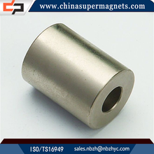 Corrosion resistant Customized Industrial ring ndfeb magnet for speaker