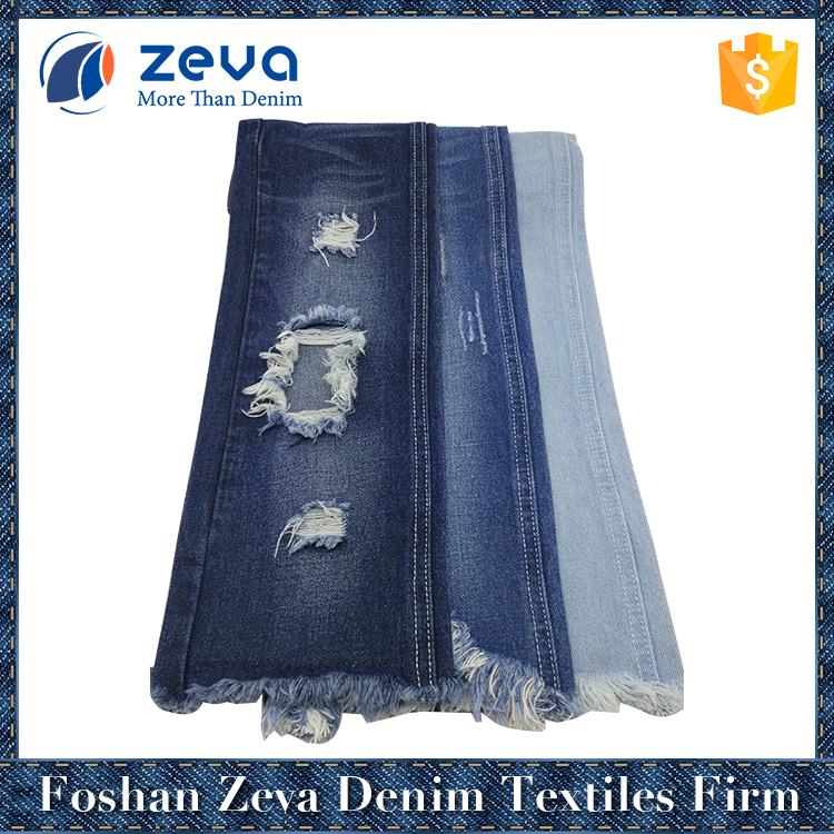 Most popular high quality 100% cotton heavy denim fabric for woman's jacket