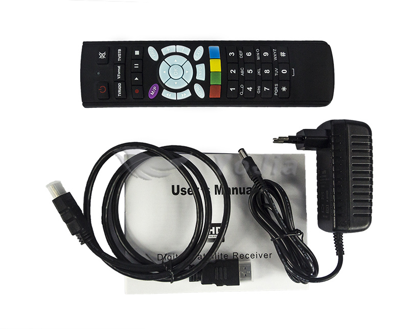 Factory price HD digital satellite receiver S-v6 set top box