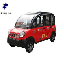 factory directly eco-friendly multi media equipped totally steel plate enclosed chinese mini car electric