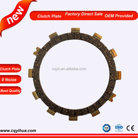 Performance motorcycle transmission clutch disc motorcycle parts
