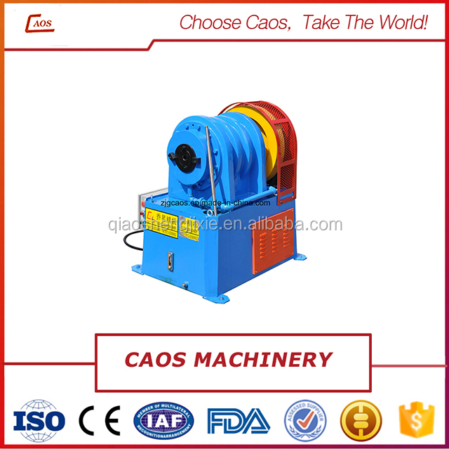 Taper pipe end forming machine from Caos Machinery