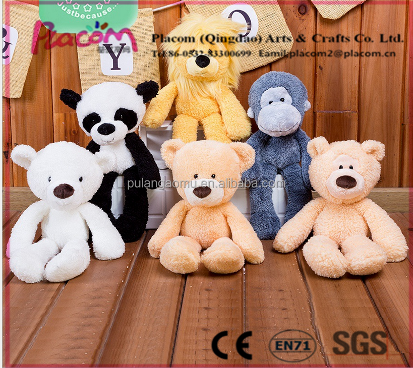 High quality Cute New design Cheap Customize Kid toys and Holiday gift plush toy animals