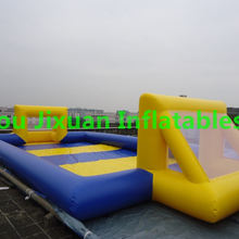 water proof soap football field/ inflatable soap football for sale