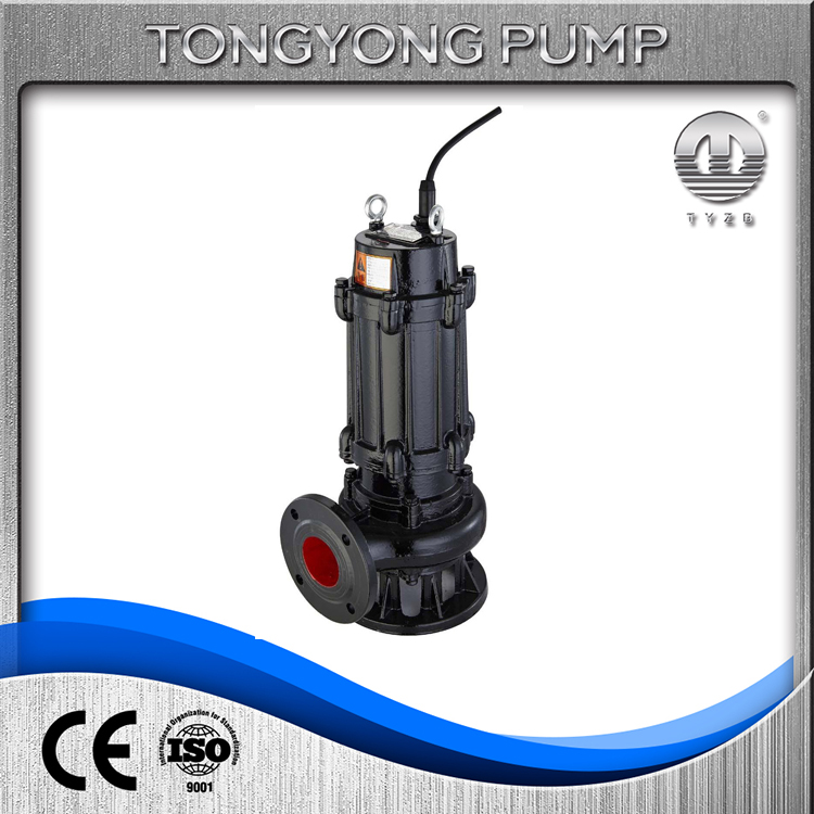 sewage ejector pump used in pit non cloging sewage submersible pump non cloging sewage pump