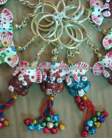Colorful designs phone charm / mobile phone straps / India mobile themes wholesale charms