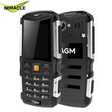 AGM M1 3G Feature Rugged Waterproof IP68 Mobile Phone Dual Sim 2.0inch Cheap Phone
