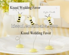 "Wedding Place card holder favor Sweet as Can Bee!"" Baby Bee Place Card Holder wedding supplier"