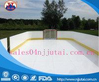High Low temperature resistance UHMWPE plastic sheet for ice skating rinks/ dasher board