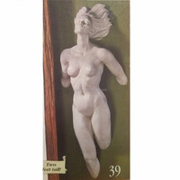 PU Urethane Light Weight Female Statue