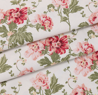 cotton canvas fabric printed/cotton polyester canvas fabric
