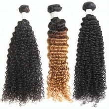 Mayqueen wholesale raw kinky curly virgin human remy hair extensions bundles vendors with closure