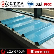 68KHz color coated corrugated metal house roofing sheet with CE&ISO
