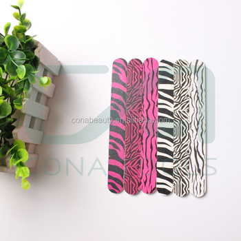 Hot sale personalized custom zebra nail file