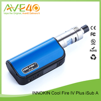 Hottest And Newest Innokin Coolfire IV Plus iSub Apex 70W Starter Kit Blue
