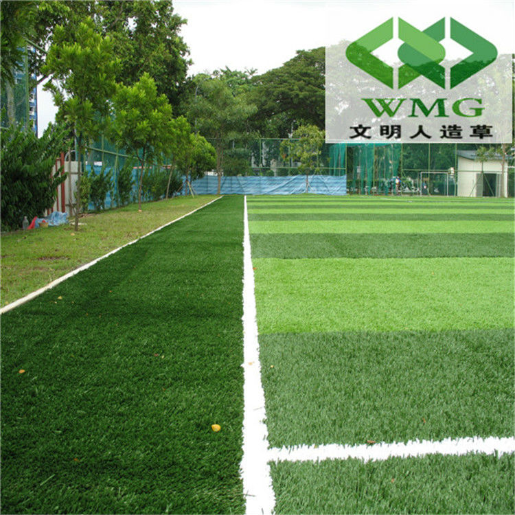 Inexpensive maintenance 8800 dtex artificial grass for football field