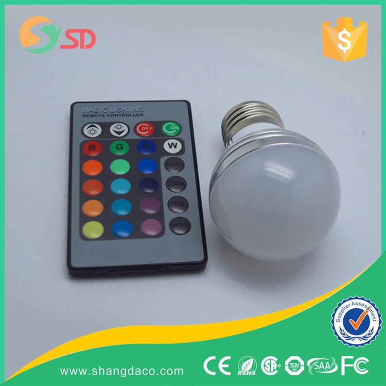 High Quality Globe Light 7W Lamp E27 LED Bulb SMD Led Rgb G9 Led Globe Bulb Dimmable