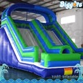 Manufacture Theme Outdoor Inflatable Large Slide with Tunnel