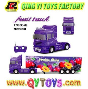 New 1:38 fruit truck remote car