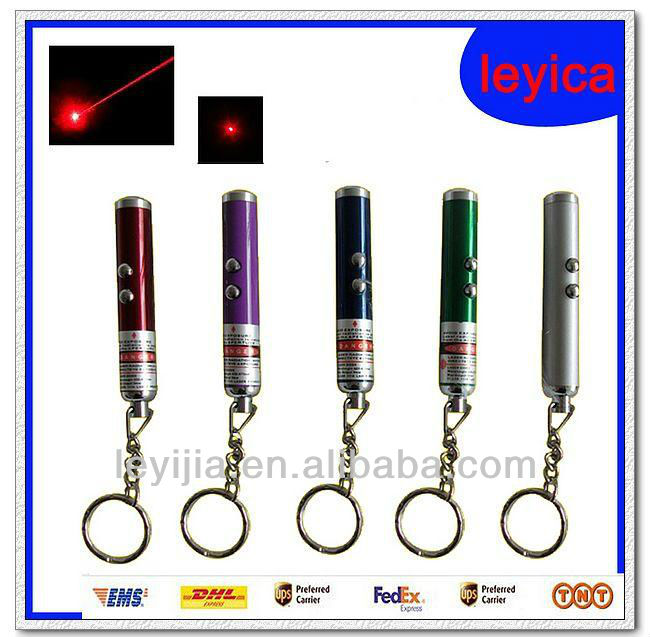 mini laser pointer with keychain LY807
