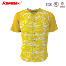Cheap Custom Sublimation Camouflage Baseball Jersey Uniform for Men