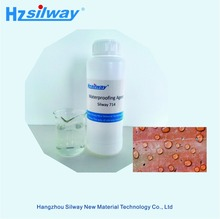 Silway714 superhydrophobic silicone water repellent spray in cement