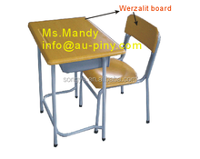 (Furniture)WERZALIT BOARD SCHOOL DESK/Table AND CHAIR/SCHOOL FURNITURE FOR Georgia