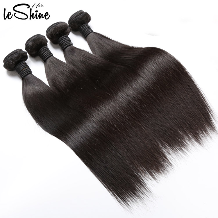 Natural Hair Extension Factory Best Quality Human Straight Silky Wave Hair