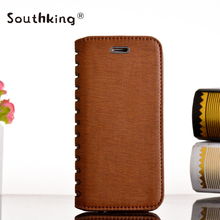 High Quality Sublimation Flip Leather wallet Phone Case for SamSung S5