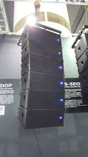 "dual 10"" active speakers line array E2210P from dbk (Guangzhou) sound company"