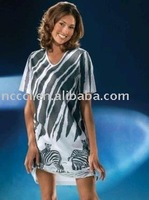 all cotton one colour printing sexy comforble lady Nightshirt