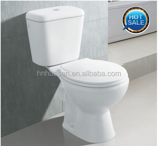Cheap sanitary ware two piece toilet with CE certificate