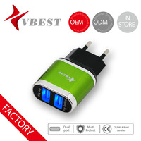 VBEST usb stick mobile phone charger usb multi adapter with LED portable for any smart cellphone