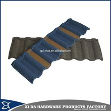 Corrosion resistant and ageless antique metal roof tiles