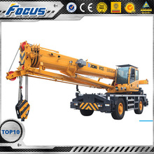 Multy-type optional colors made in China Xcmg rough terrain crane sany new truck crane RT25