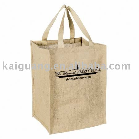 2014 Promotional Big Jute Grocery Tote Bag(shopping bag)