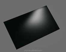 High gloss PETG sheet black for kitchen cabinet door , 1220*2440mmm